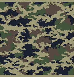 Camouflage pattern military print seamless vector