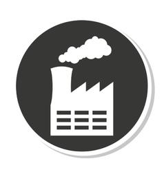 Factory industrial design vector