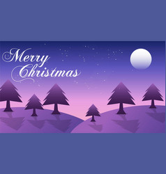 merry christmas 2020 background design vector image