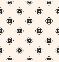 ornamental seamless pattern with carved flower vector image