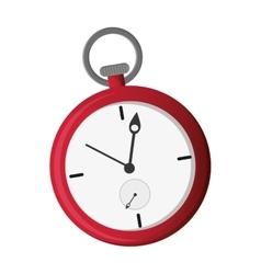 Pocket watch icon vector