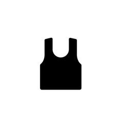 tank top icon vector image