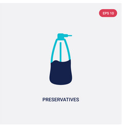 Two color preservatives icon from cleaning vector