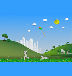 world environment daysave the earth and nature vector image