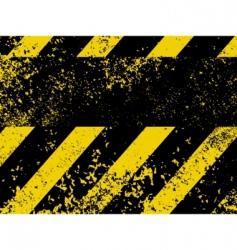 diagonal hazard stripes texture vector image vector image
