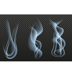 Jet smoke vector image