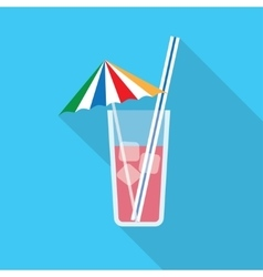Alcohol drink and cocktail vector image
