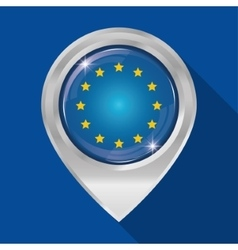 European union flag design vector