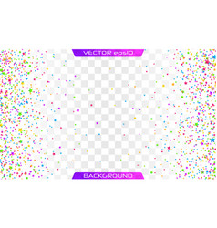 festive colorful star vector image