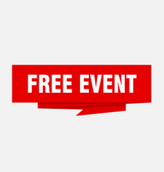 Free event vector