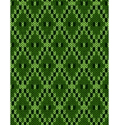 Jacquard ornament texture vector