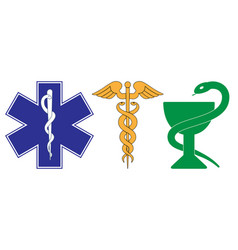 medical symbol emergency vector image