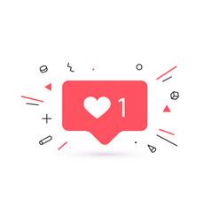 notifications icon like speech bubble like icon vector image