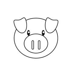 Pork livestock animal design vector