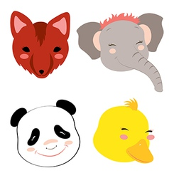 Animalheads3 vector
