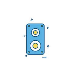 birthday icon design vector image