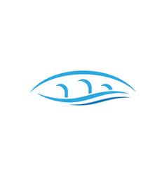 Bridge logo template icon vector
