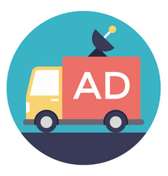 Broadcasting ads vector
