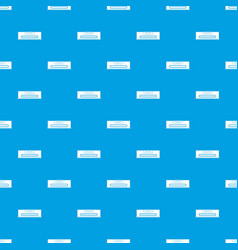 building level pattern seamless blue vector image