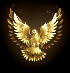 Gold Dove vector