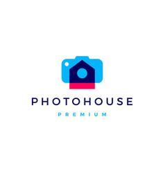 photo house real estate logo icon vector image