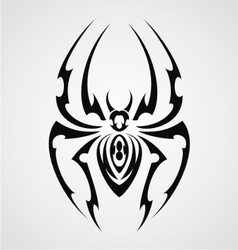 Spiders Tattoo Design vector