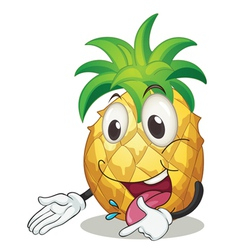 a pineapple vector image vector image