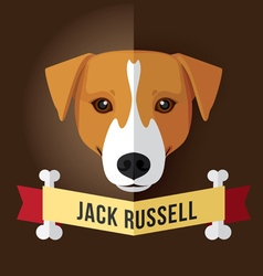 jack russell vector image vector image