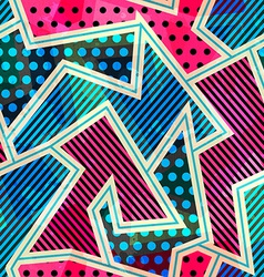 bright cloth seamless pattern vector image