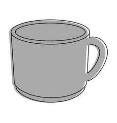 cup of chocolate vector image