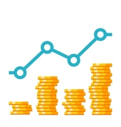 Growth Investment Concept vector image