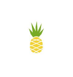 ananas fresh fruit for logo vector image