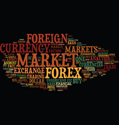 Forex made easy for everyone text background word vector