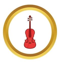 Cello icon vector image vector image