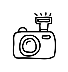 Camera photography drawing isolated icon design vector