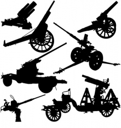 cannon vector image