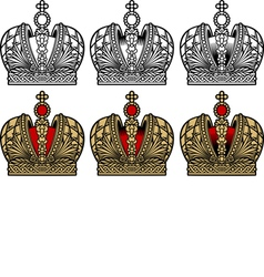 Crown vector image