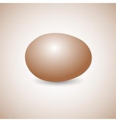 Icon egg vector image