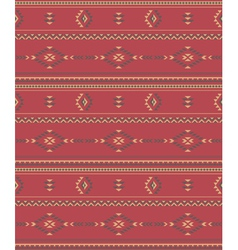 Native Americans fabric vector image vector image