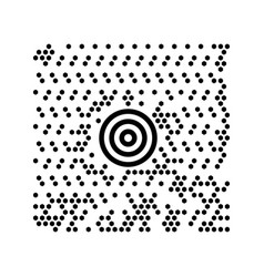 abstract digital code scanner barcode template for vector image