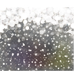 falling sparkling transparent glitter vector image
