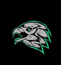 Head hawk vector