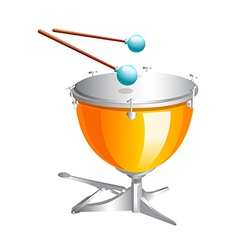 Icon drum vector