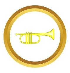 Music tube icon vector