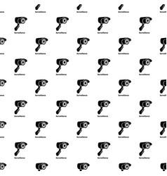 surveillance pattern seamless vector image