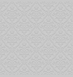 vintage gray seamless pattern background with vector image