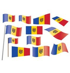 flag of Moldova vector image vector image
