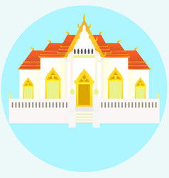 temple vector image vector image