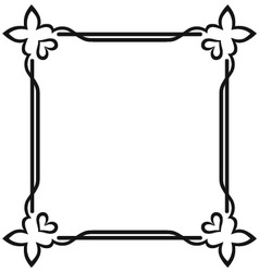 Blank frames vector image