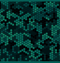 abstract modern camo military fabric and fashion vector image